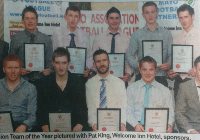 Premier Division Team of The Year
